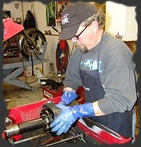 motorcycle machine shop services